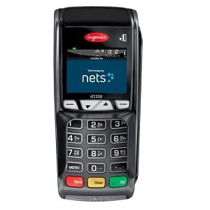 Nets betalingsterminal iCT250
